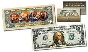 2-Sided-Colorized-Genuine-Legal-Tender-US-1-Bill-Declaration-of-Independence