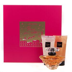 Lancome Tresor 50ml Eau de Parfum Gift Set Perfumed Body Lotion ...