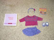American Girl Bitty Baby/ Bitty Twins Fair Isle Skirt Set~2013