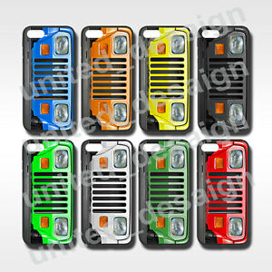 hot sale online 7c306 dee78 Details about Jeep Wrangler YJ Classic Case Collection for Apple iPhone 7 7  Plus Case