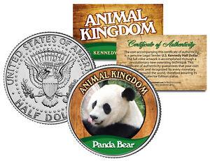 PANDA-BEAR-Animal-Kingdom-Series-JFK-Kennedy-Half-Dollar-U-S-Coin