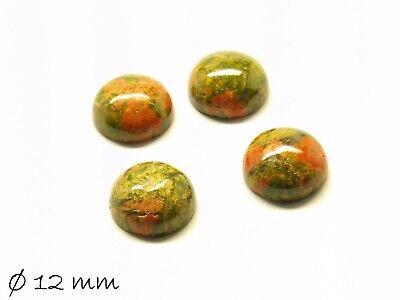 2 Stk Ø 20 mm Rubin in Fuchsit  Cabochons zum Einkleben in Fassungen