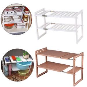 Under-Sink-2-Tier-Shelf-Storage-Organizer-Stainless-Steel-Kitchen-2-Colors-A8A3