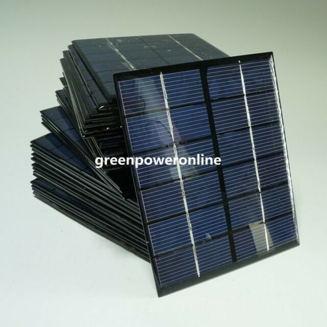 1PC 2W 6V 330mA Mini Solar Panel Module System Epoxy Cells Charger DIY B031