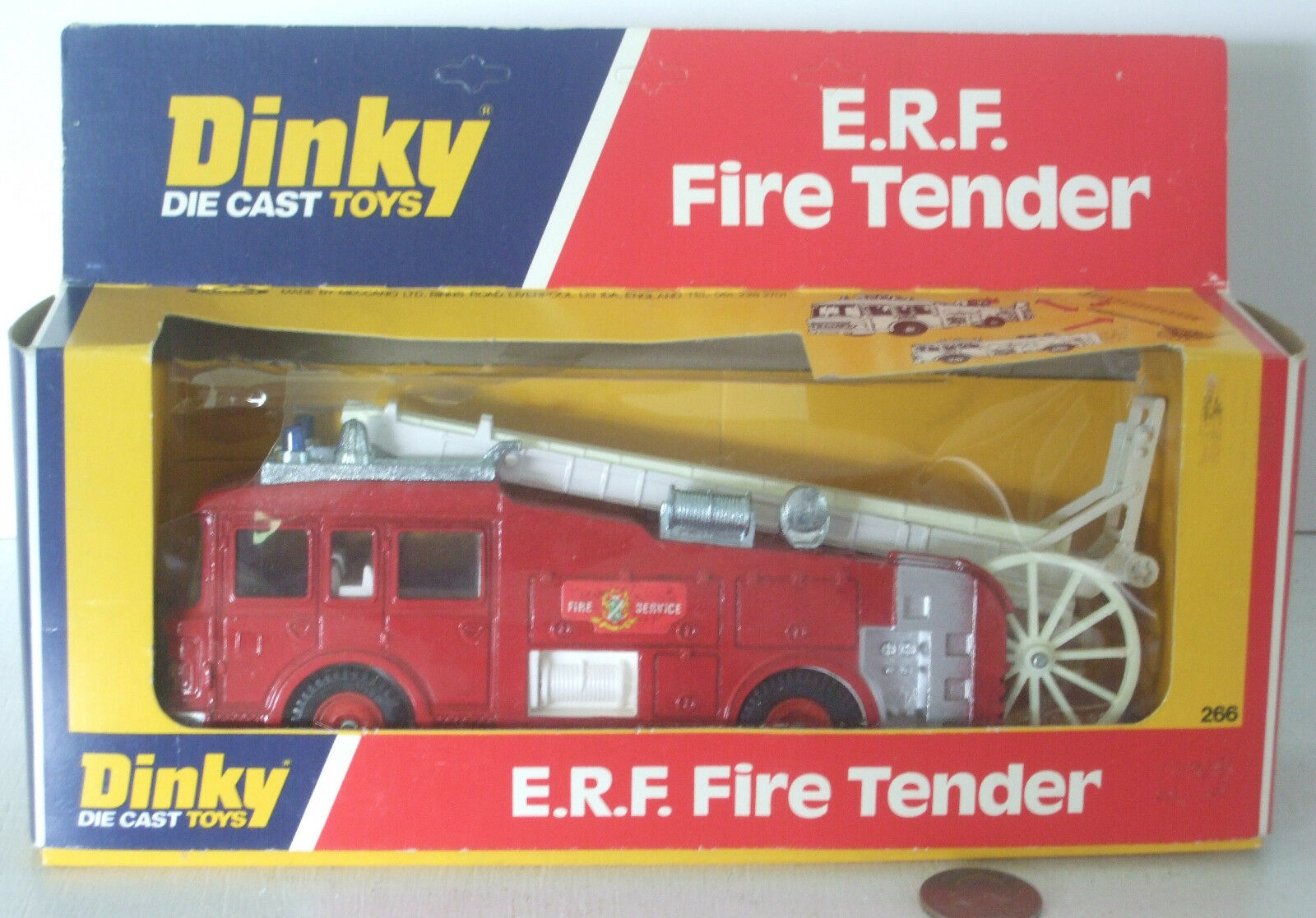 Dinky ERF Fire Tender New In Box 8