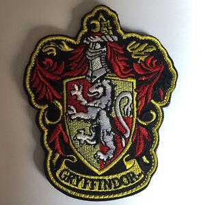 36e9b52e0b3 Image is loading Harry-Potter-Hogwarts-House-Gryffindor -Badge-Tactical-Morale-