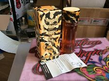 Extraordinaire Faberge TIGRESS Perfume Cologne Paris 5fl.oz 150ml Velvet Top Fur