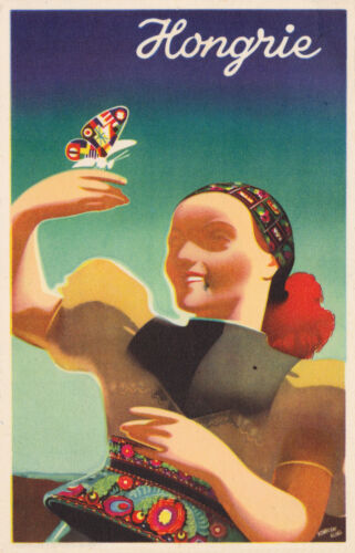 HUNGARY.... Vintage Travel Poster A1A2A3A4Sizes