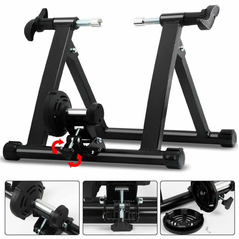 Portable Indoor Bike Traine  Bicycle Stand Non-Wire exercise Resistance Workout  save 60% discount