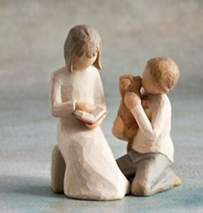Willow-Tree-Siblings-Sister-amp-Brother-Figurine-Gift-Set-Family-Group