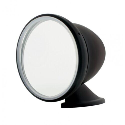 4/'/' Diameter Mirror Black GT Racing Rear View Mirror Bullet Style
