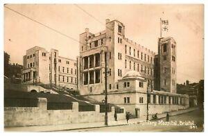 Antique-WW1-military-RPPC-postcard-2nd-Southern-Military-Hospital-Bristol
