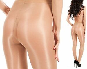 MEGA GLANZ Glossy dünne glänzende Damen Strumpfhose 8 Farben 20 den T-Band EU