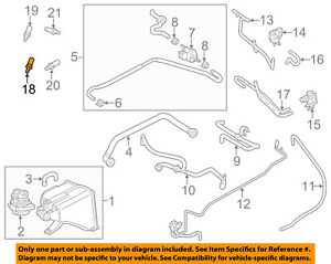 porsche oem 11 15 cayenne oxygen o2 sensor 95860612801 ebay rh ebay com Porsche 944 Relay Diagram Porsche Side Top Diagram