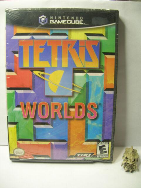 Tetris worlds NINTENDO GAME CUBE  version ntsc USA neuf - NEW factory SEALED