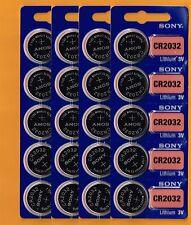 CR2032 SONY Lithium Battery 3V (pack 20 pcs) Expire Date 2027 Brand New Fresh