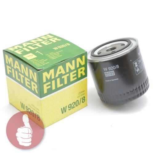 Original MANN-FILTER Ölfilter W 920//8 VAG VW Gruppe