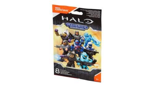 SEALED Halo Mega Bloks Construx Maverick Series UNSC Blue Silver ODST