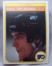 1982-83 O-Pee-Chee OPC Paul Holmgren Flyers lot of 2 Hockey Cards
