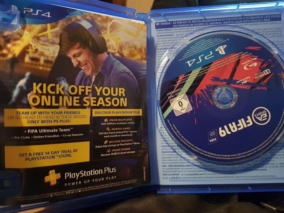 Sælger FIFA 19, PS4, sport