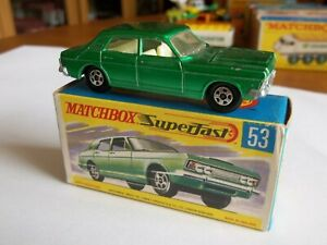 Matchbox-Superfast-53-Ford-Zodiac-MKIV-Near-Mint-in-Excellent-Box