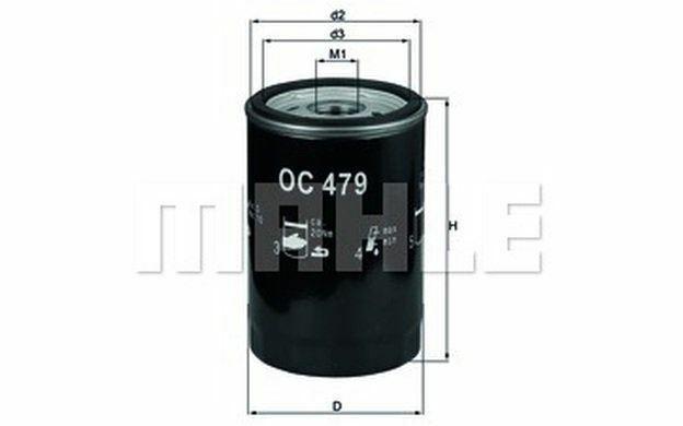 KNECHT Filtre à huile OC 479 - Pièces Auto Mister Auto