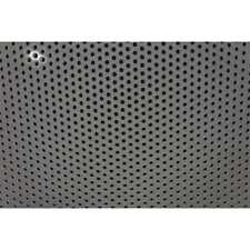 Zoro Select Pl125188r313s 48x32 White Polypropylene Perforated Sheet 32 L X