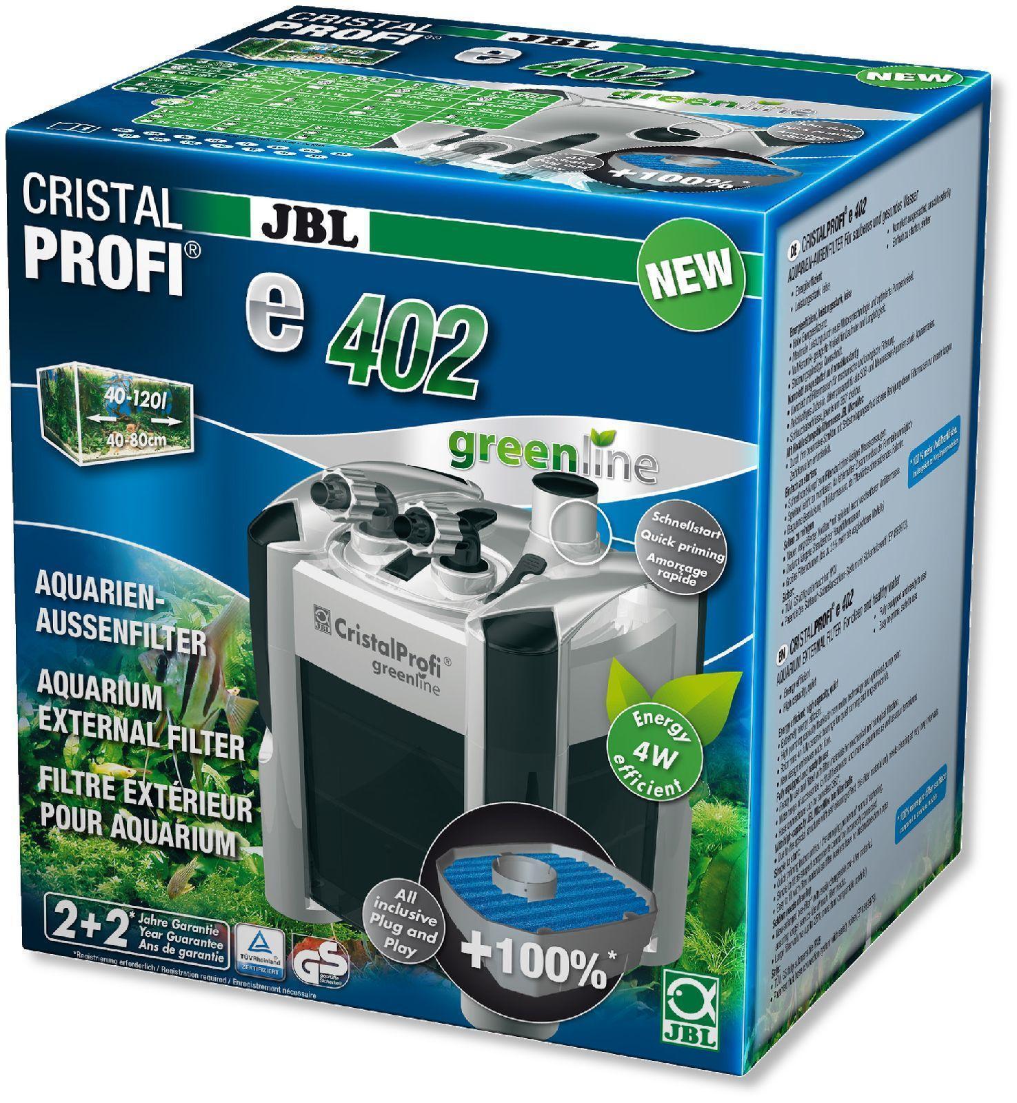 JBL Acquario Filtro Esterno Cristal pro e 402 Gl