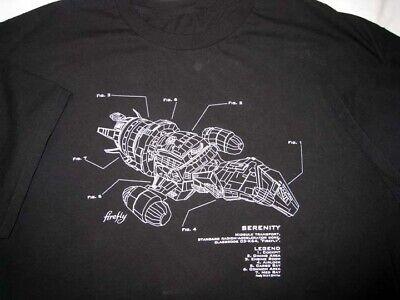 Firefly Serenity Diagram Mens T-Shirt