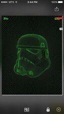 Topps Star Wars Digital Card Green Intergalactic Stormtrooper Insert Award