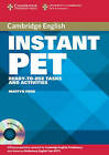 Instant PET Book and Audio CD Pack: Ready-to-use Tasks and Activities by Martyn Ford (Mixed media product, 2007)