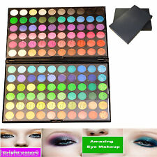 120 Colores Paleta Sombra de Ojos Sombra de Ojos Maquillaje Kit Set Maquillaje Caja Profesional