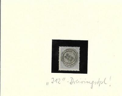 Dänemark / Mi.-nr. 22 Mit Idealem Dreiring-stempel 212 , Pracht HeißEr Verkauf 50-70% Rabatt