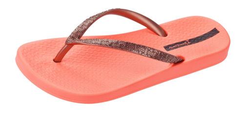 Sandals Ipanema Mesh II Womens Flip Flops Coral Rose Gold