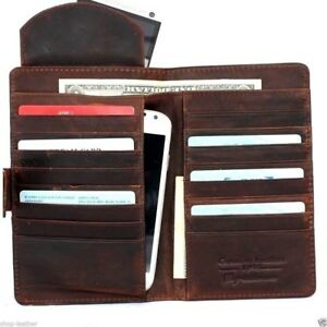 genuine-leather-Case-for-apple-iphone-x-book-wallet-cover-cards-slots-dark-brown