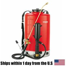 Birchmeier Senior 5 Gallon Back Pack Sprayer Pest Control Red Strap On Backpack
