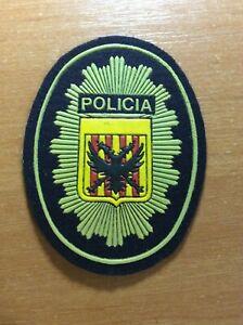 Espana-Valencia-Parche-POLICIA-policia-Original