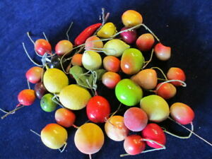 Vintage-Millinery-Flower-Fruit-Collection-Colorful-1-034-2-034-German-H3052