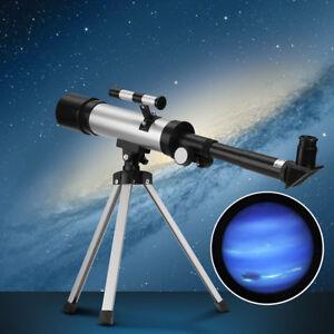 Astronomical-Telescope-Tube-Refractor-Monocular-Spotting-Scope-Tripod-W