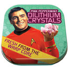 Classic Star Trek Dilthium Crystals in Illustrated Tin Box 4 ounces, NEW SEALED
