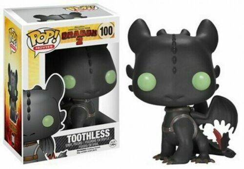 Come Funko Pop UK per addestrare il tuo Dragon 3 SDENTATO IN VINILE ACTION FIGURE GIOCATTOLI REGALO