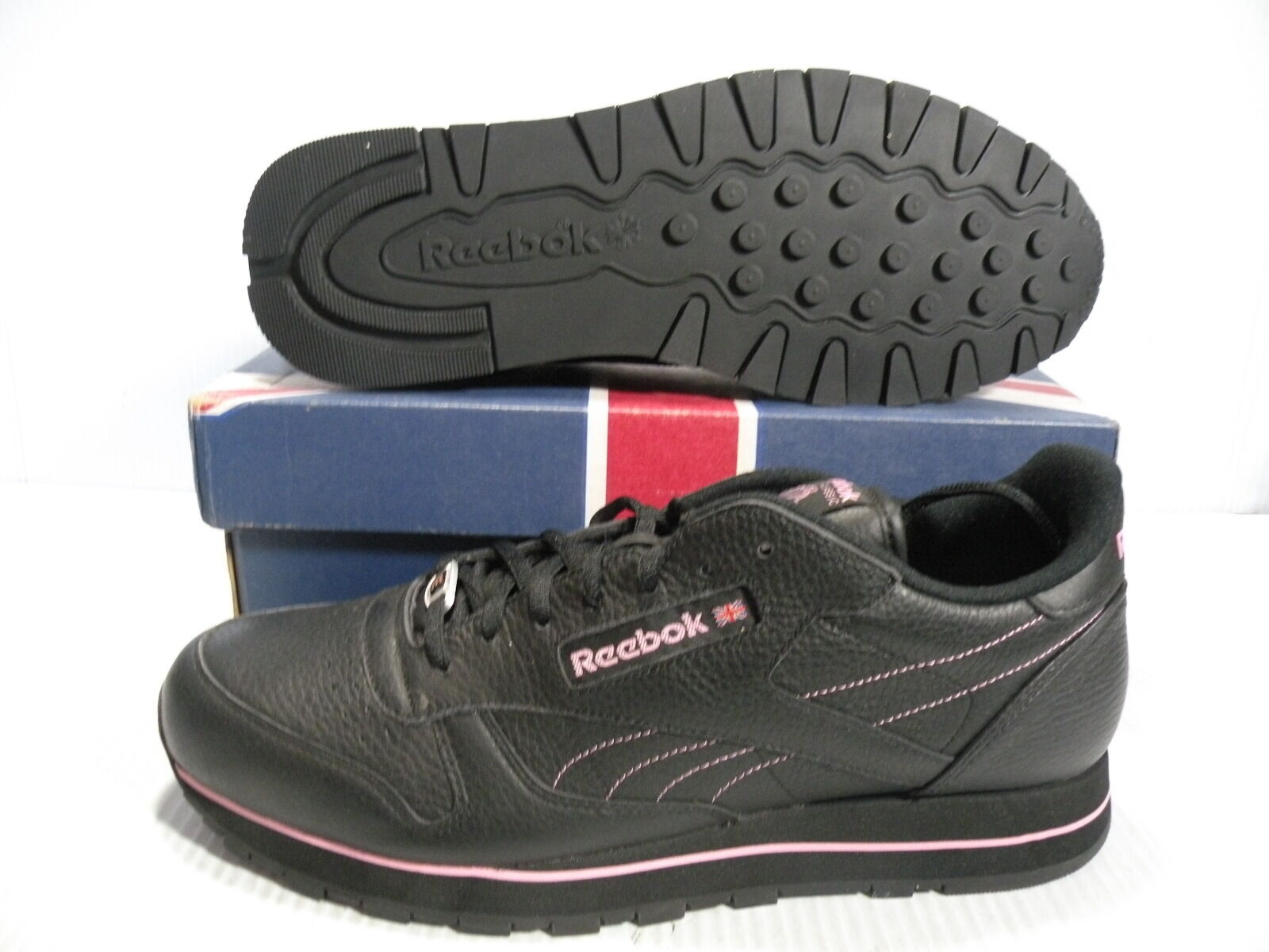 REEBOK CLASSIC  LEATHER T SE LOW SNEAKERS MEN SHOES BLACK 1-113619 SIZE 11 NEW