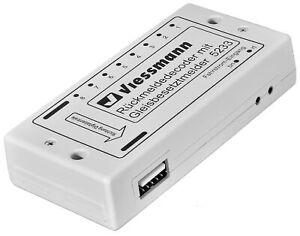 Viessmann-5233-Decodeur-Confirmable-Avec-Detecteur-de-Presence-de-Piste-Neuf