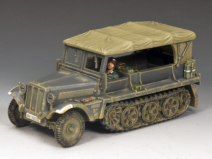 King & land WS229 Sd.Kfz.10 AuSF.B Demag MIB