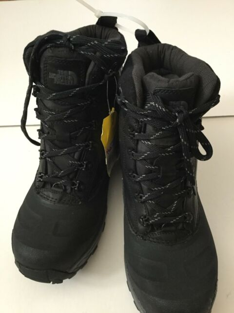 The North Face Menk's SZ 9 Chilkat III Luxe Winter Boots TNF Black & zinc Grey