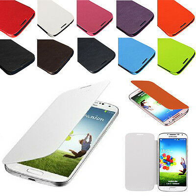 Ultra Slim Magnetic Flip Book PU Leather Case Cover For Samsung Galaxy S4 i9500