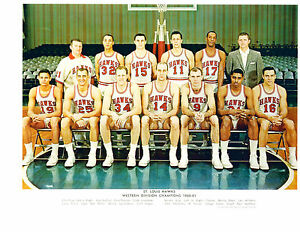 1960-1961-ST-LOUIS-HAWKS-8X10-TEAM-PHOTO-BASKETBALL-WEST-DIV-CHAMPS-NBA