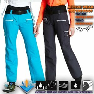 Womens-Ski-Trouser-Lightweight-Waterproof-Snow-Pant-Snowboard-Salopettes-Libert