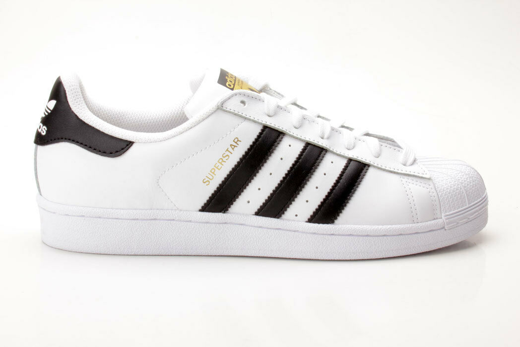Adidas Superstar C77124 weiß-schwarz Scarpe da uomo classiche economiche e belle