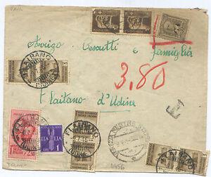 R-S-I-ECCEZIONALE-TASSATA-9-7-1945-GRANDE-RARITA-039-OCCASIONISSIMA